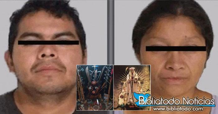 En México Pareja de asesinos en serie confesaron entregar sus victimas a la Santa Muerte
