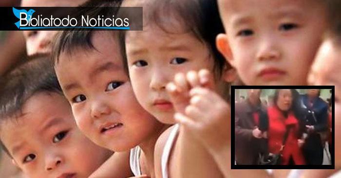 ¡LAMENTABLE! Mujer acuchilla a 14 niños en guardería