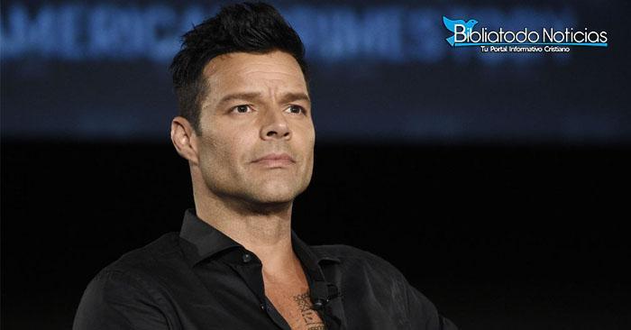 """""""No se puede decidir en base a La Biblia"""" dice Ricky Martin del matrimonio homosexual"""