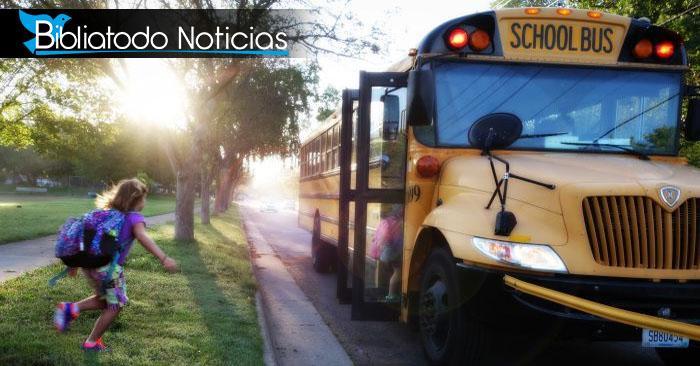 EE.UU: Luego de Halloween se incrementan accidentes de niños esperando bus escolar