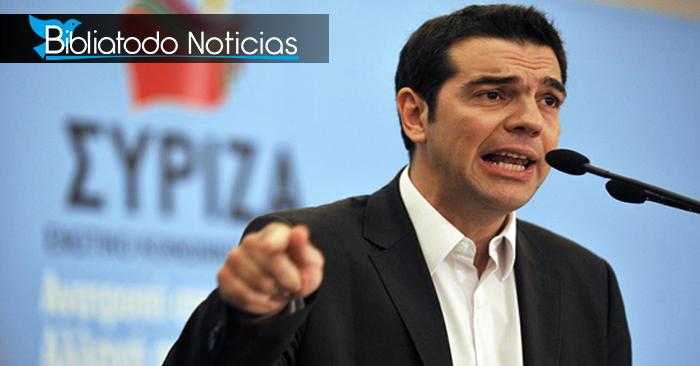 En Grecia Primer ministro Alexis tsipras planea eliminar a Jesucristo como máxima autoridad