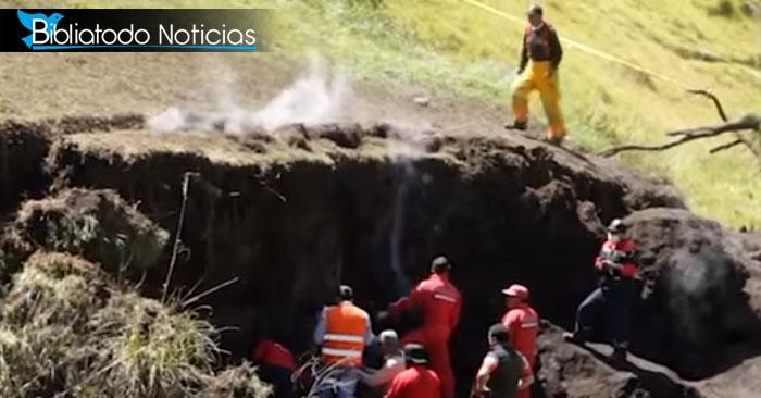 """Encuentran """"Lago de Fuego"""" en población remota de América Latina"""