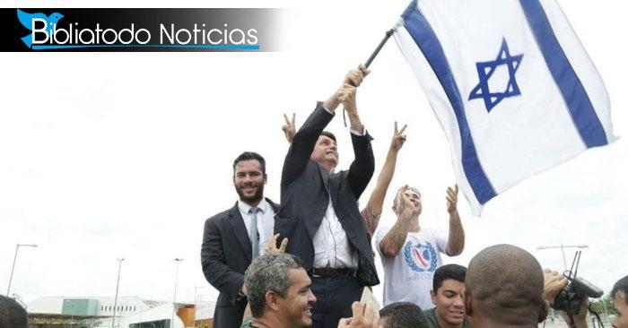 De Israel a Jerusalén: Bolsonaro mudará la embajada de Brasil