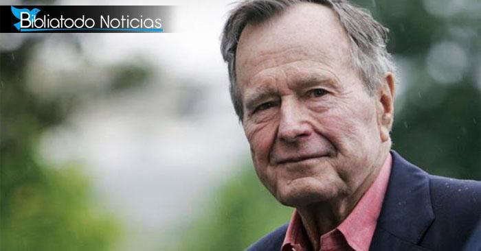 En su último aliento, George H. Bush realzó su fe en Jesús