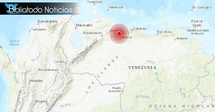 ¡ÚLTIMA HORA! Fuerte temblor sacude a Venezuela