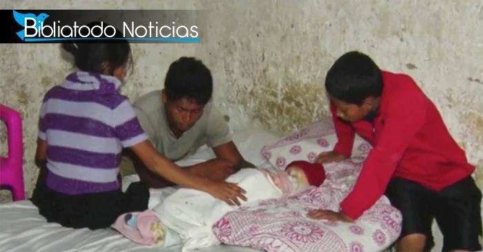 En Honduras: Padres de un bebé dicen que su bebé ha muerto y resucitado 4 veces