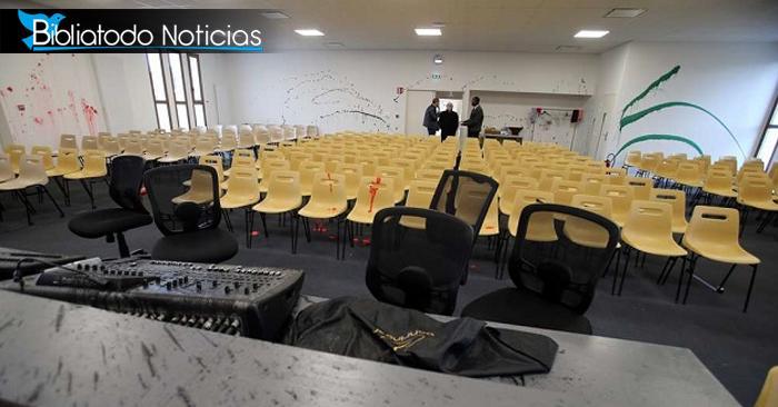 Grupo vandálico ataca una iglesia en Francia y destruye todo el local