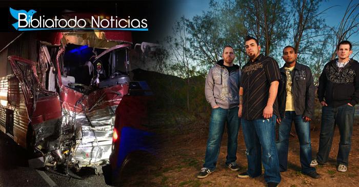 ¡Guardados del mal! Banda cristiana sobrevive a fatal accidente en carretera de Texas
