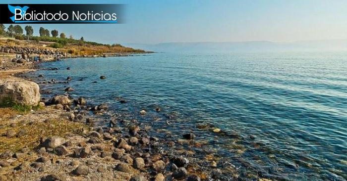¡Lluvia en Abundancia! El Mar de Galilea sube varios centímetros en un día por intensas lluvias