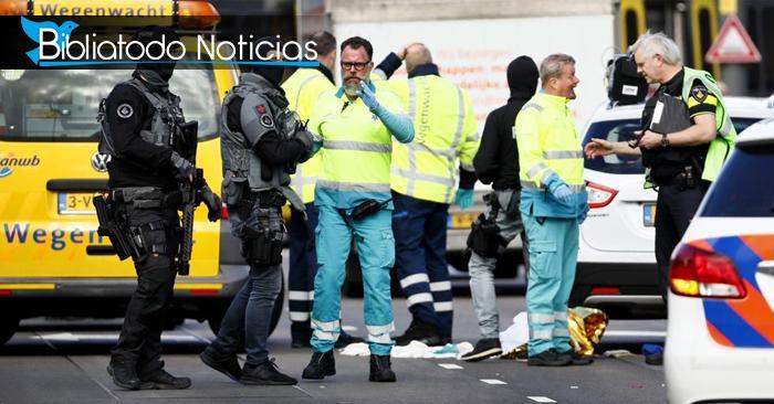 ¡ÚLTIMA HORA! Tiroteo en Holanda deja heridos y causa pánico en las personas