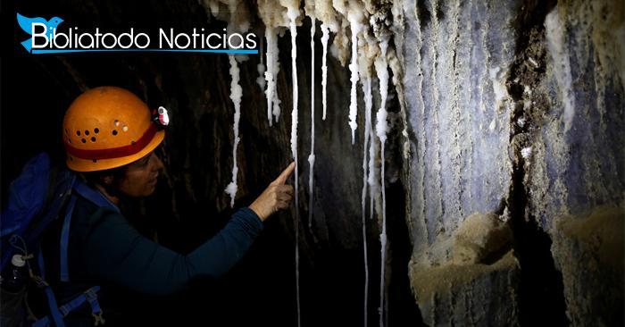 Caverna de sal fue hallada donde mujer de Lot se convirtió en estatua