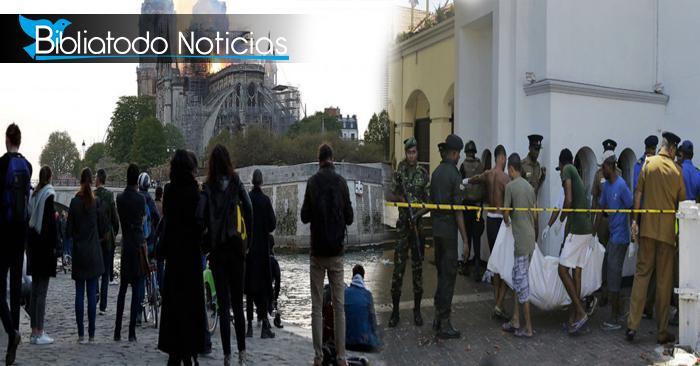 ¿Hay más sensibilidad con el incendio en Notre Dame que con la masacre de Sri Lanka?