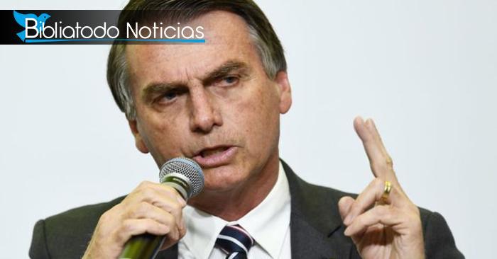 """""""No podemos dejar que Brasil sea conocido como el paraíso del turismo gay"""" dice Jair Bolsonaro"""