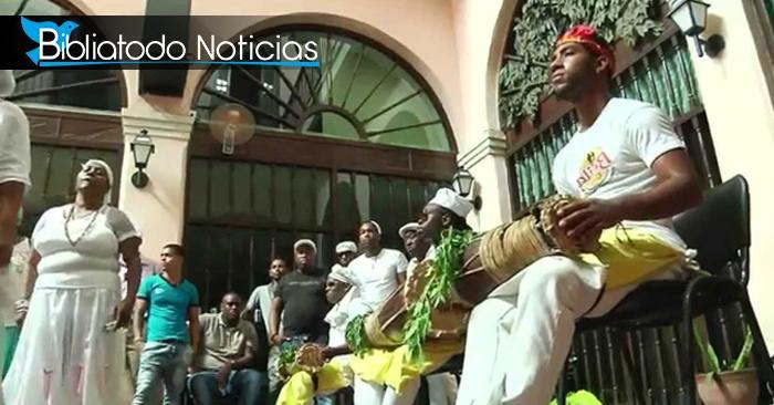 ¡ALARMANTE! Santeros y Paleros venezolanos hacen rituales en las calles en apoyo a Maduro