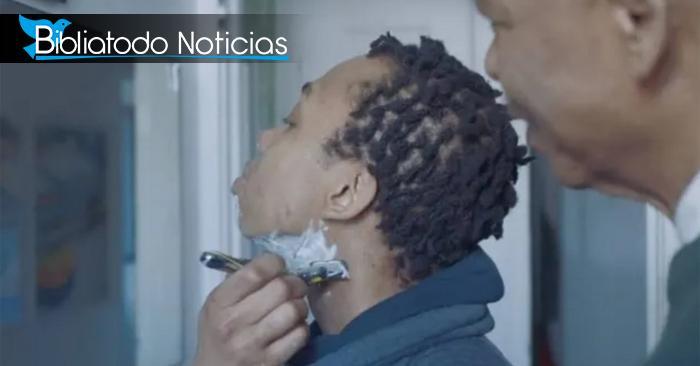 Chica transgénero es alentada por su padre a rasurarse en nuevo comercial de Gillette