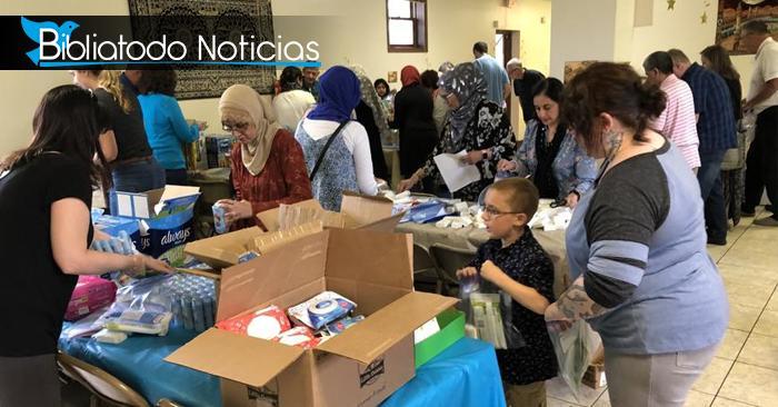 Cristianos y Musulmanes se unen para bendecir a los más necesitados de su comunidad