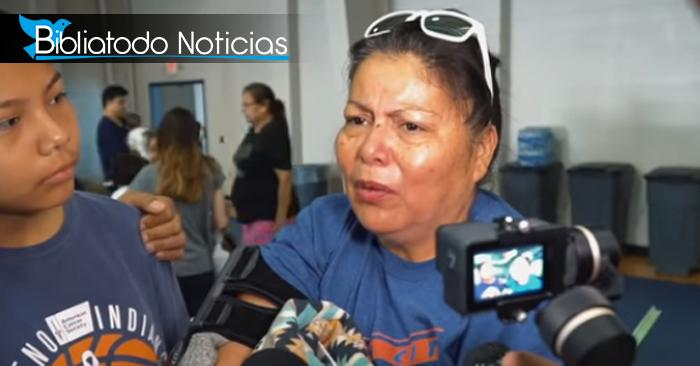 Madre cuenta como Dios la salvó de la muerte a ella y a sus hijos en medio de tornado