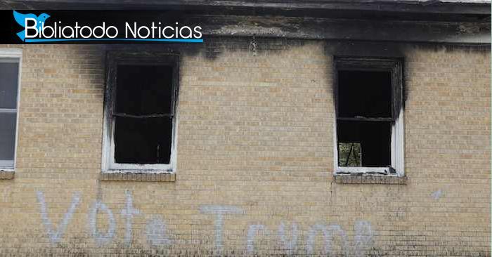 Hombre que incendió una iglesia negra antigua está enfrentando gran condena