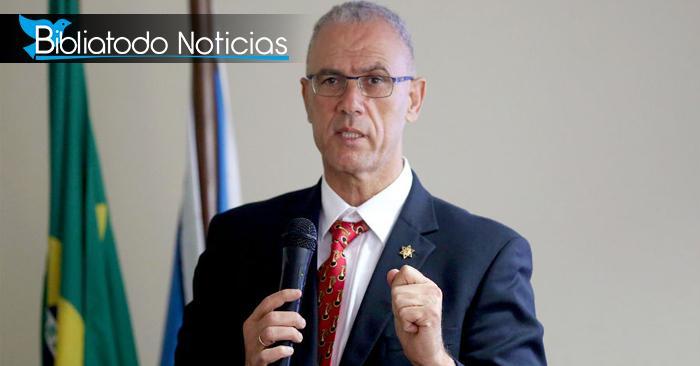 """""""No hemos sido destruidos porque Dios cuida a Israel"""" afirma embajador en sesión solemne"""