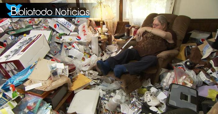 Esperando ser raptada mujer acumula grandes provisiones para los que se quedan