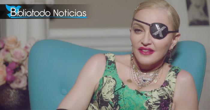 Madonna hace absurdas insinuaciones sobre Jesús y el aborto