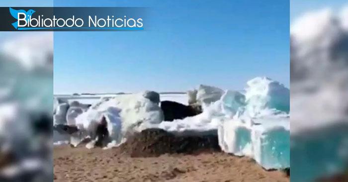 Mounstroso tsunami azota a a Rusia por la llegada de verano