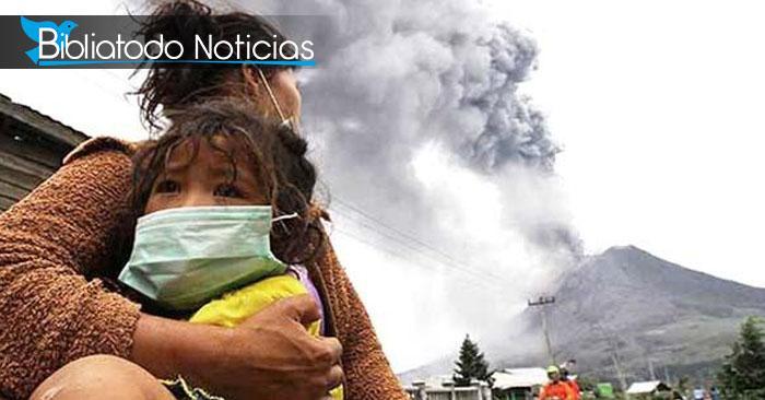 Erupción mortal de volcanes desata pánico en Papua Nueva Guinea