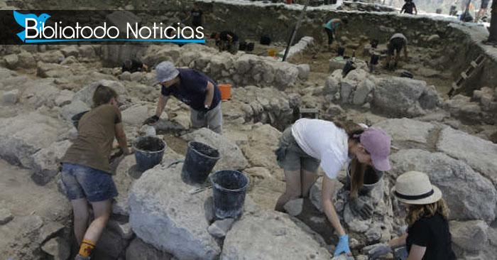 Hallan antigua ciudad de los tiempos del Rey David en Israel