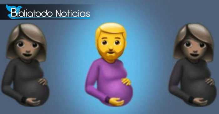 """REPUGNANTE: Piden que se incluya a WhatsApp emoji de """"hombre embarazado"""""""