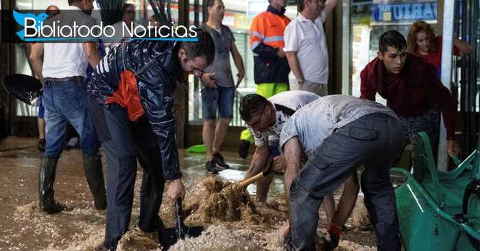Horrible tormenta causa estragos en Madrid con fuertes lluvias y granizos