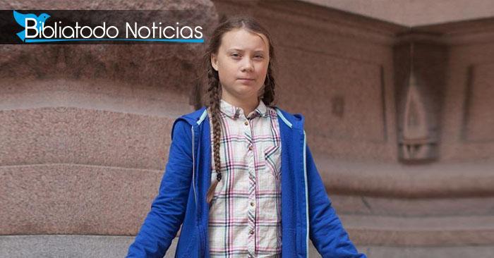 """Activista Greta Thunberg es proclamada """"Sucesora de Cristo"""" por Iglesia de Suecia."""