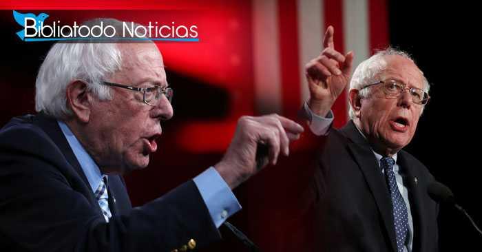 Bernie Sanders, Senador de Vermont y candidato democrático a la presidencia de los Estados Unidos