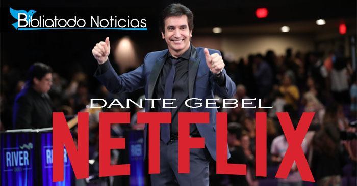El conferencista, pastor y escritor Dante Gebel está trabajando con Hollywood y Netflix para producir una serie sobre su vida