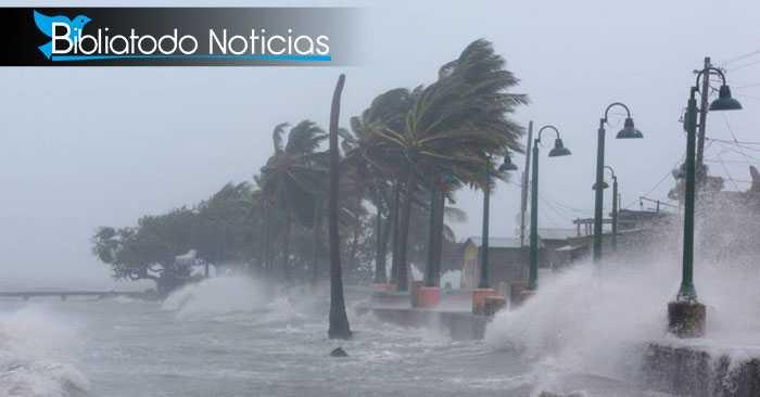 Las Bahamas azotada por el fuerte huracán