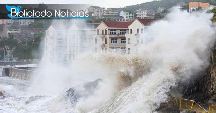 Gran tormenta amenaza a Corea del Norte con su llegada este fin de semana