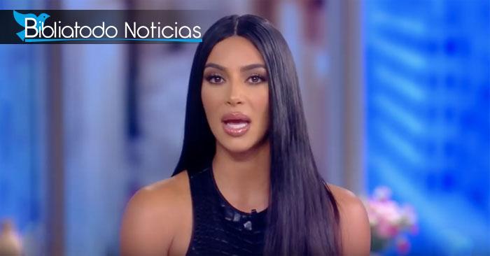 """Kim Kardashian afirma públicamente que su esposo Kanye West """"ha nacido de nuevo en Cristo"""""""