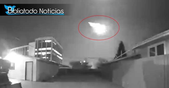 Imagen captada por la cámara de seguridad de una vivienda
