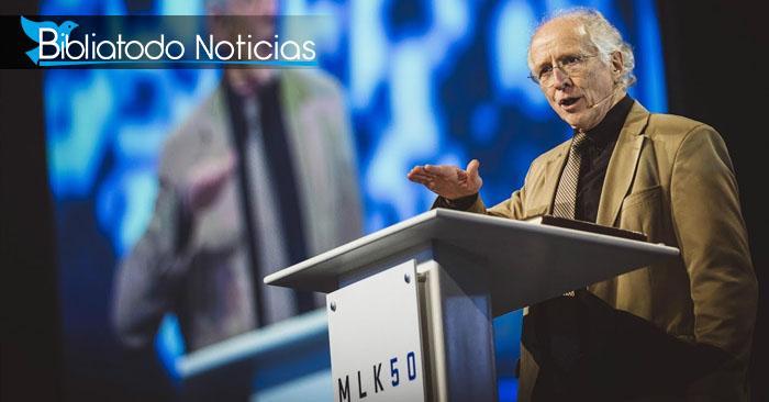 Foto del pastor y teólogo estadounidense John Piper