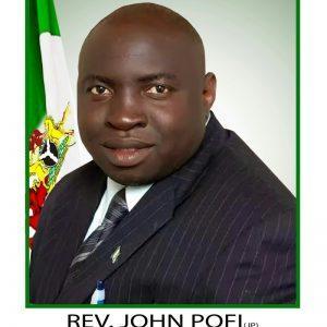 Foto del pastor John Pofi
