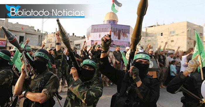 Terrorista Hamas amenaza con bombardear a Israel hasta destruirlo por completo